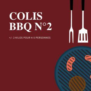 Colis barbecue num 2 - Halle de l'Artisan Liège