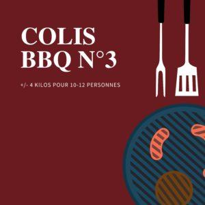 Colis barbecue num 3 - Halle de l'Artisan Liège