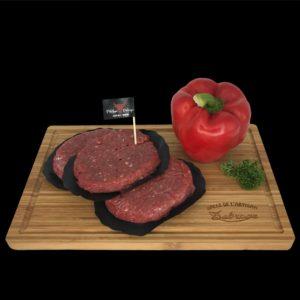 Steak haché pur boeuf - Halle de l'Artisan Liège